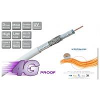 Hirschmann Koka 9 TS 4G LTE Proof Coaxkabel voor CAI en Satelliet 100meter *NIEUW*