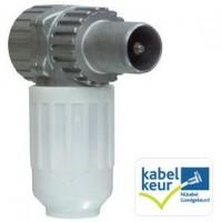 Hirschmann Koswi3 Male IEC Coax Plug